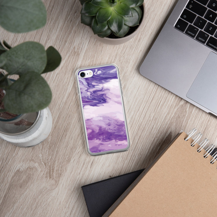 Marble Purple iPhone Case |  |  | JacksonsRunaway