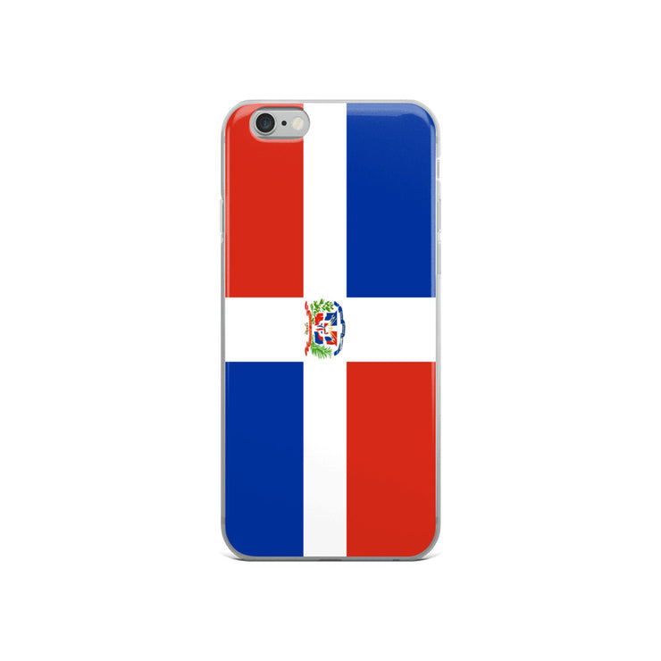 Flag of Dominican Republic Protective iPhone Case (For all iPhone Models) | Dominican Republic / iPhone 6/6S / Blue/Red/White | Mobile Phone Cases | JacksonsRunaway