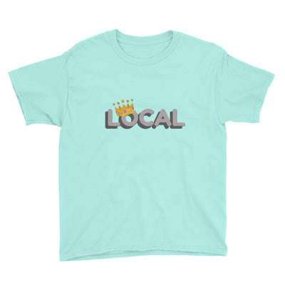 Local Youth T-Shirt | Teal Ice / XL | T-shirt | JacksonsRunaway