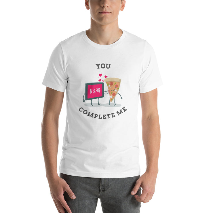 You Complete Me T-Shirt | White / 4XL | T-shirt | JacksonsRunaway