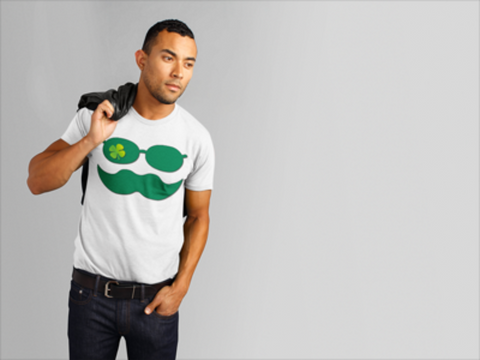 Disguised Clover St. Patty s Day Funny Men s T Shirt   jacksons runaway.myshopify.com