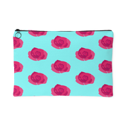 Flower Print Carry All Pouch