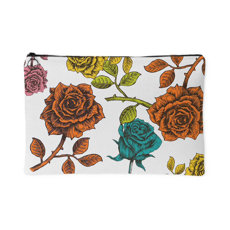 Vibrant Charms Zipper Pouch | Large Accessory Pouch | Accessories | JacksonsRunaway
