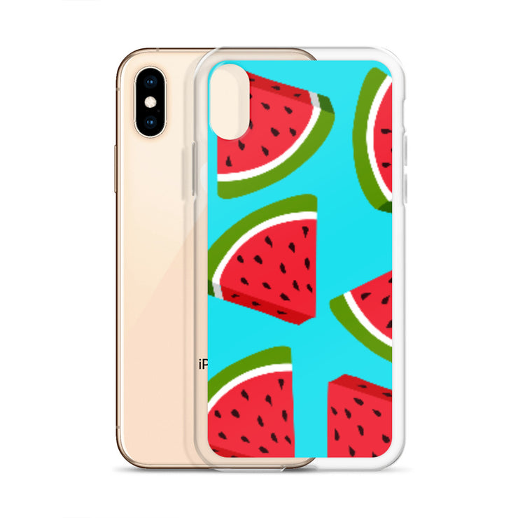 Watermelon Lovin' iPhone All Models Hard Shell Protective case | iPhone X/XS | Cellphone Accessories | JacksonsRunaway