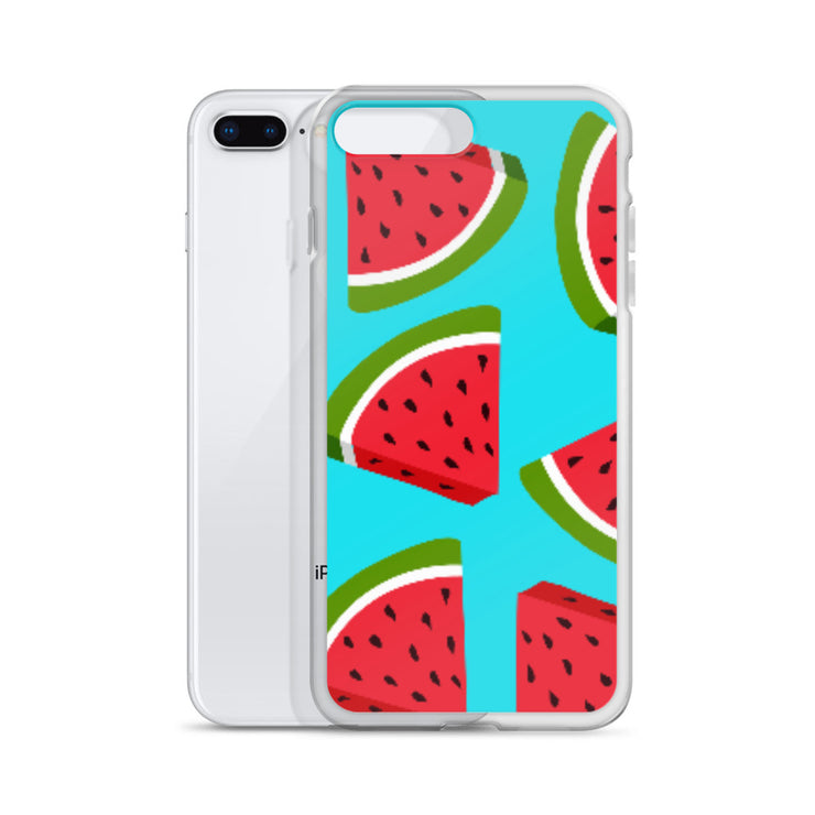 Watermelon Lovin' iPhone All Models Hard Shell Protective case | iPhone 7 Plus/8 Plus | Cellphone Accessories | JacksonsRunaway