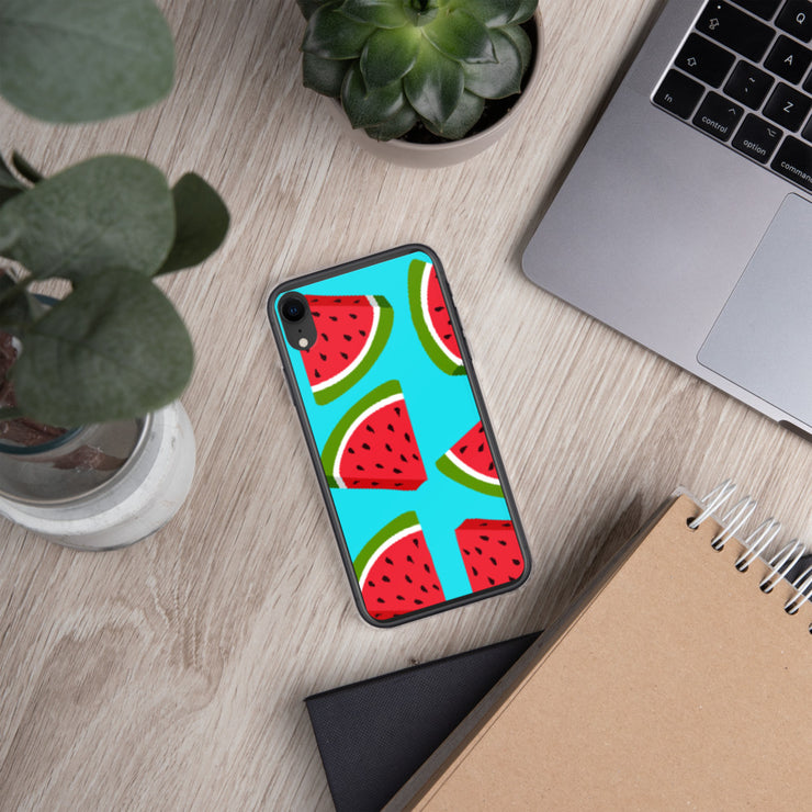 Watermelon Lovin' iPhone All Models Hard Shell Protective case | iPhone XR | Cellphone Accessories | JacksonsRunaway