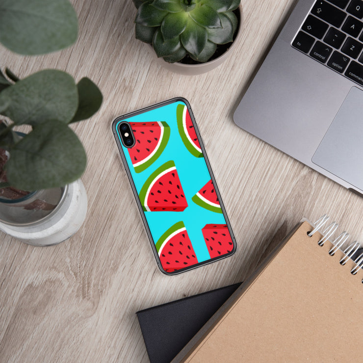 Watermelon Lovin' iPhone All Models Hard Shell Protective case | iPhone XS Max | Cellphone Accessories | JacksonsRunaway