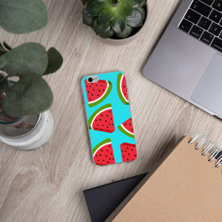 Watermelon Lovin' iPhone All Models Hard Shell Protective case | iPhone 6/6s | Cellphone Accessories | JacksonsRunaway