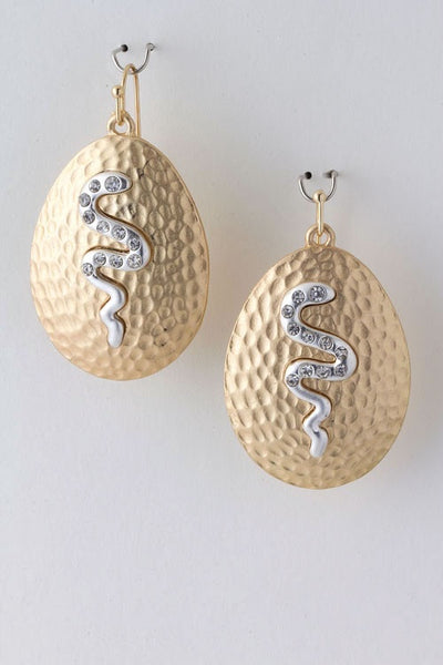 Sneaky Style Drop Earrings