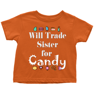 Trade Sister Toddler T-Shirt | Toddler T-Shirt / Orange / 6-May | T-shirt | JacksonsRunaway