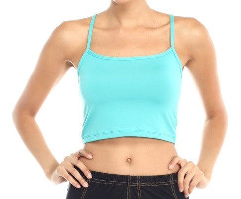 Everyday Discovery Cami Crop Top | Turquoise / Large | Women's | JacksonsRunaway