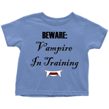 Vampire In Training Toddler T-Shirt