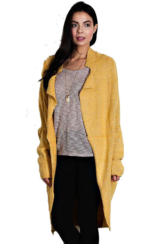 Sunshine Wool Open Shawl Sweater Cardigan   Jacksons Runaway    1