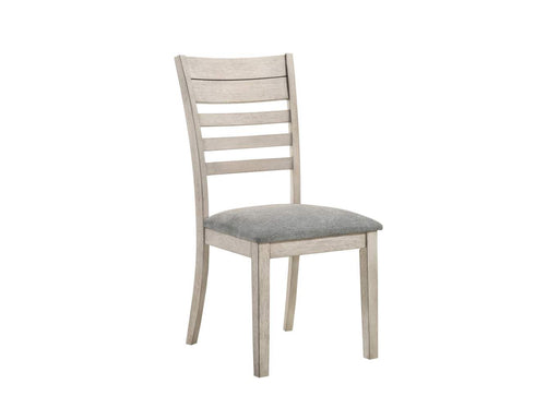 Crown Mark White Sands Side Chair in Cream 2132S (Set of 2) image