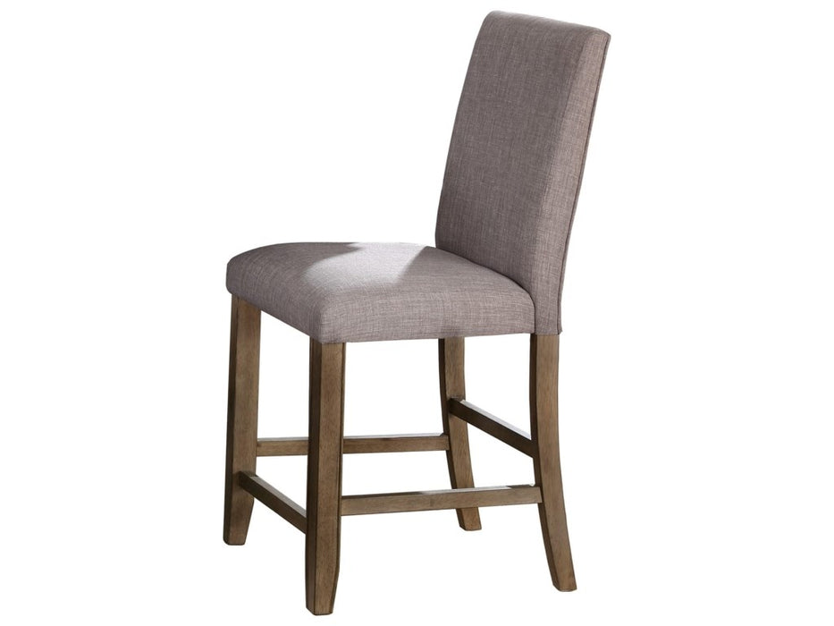 Crown Mark Manning Counter Height Dining Chair in Brown 2731S-24-NH (Set of 2) image