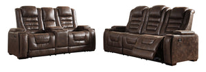 Game Zone Signature Design Contemporary 2-Piece Living Room Set