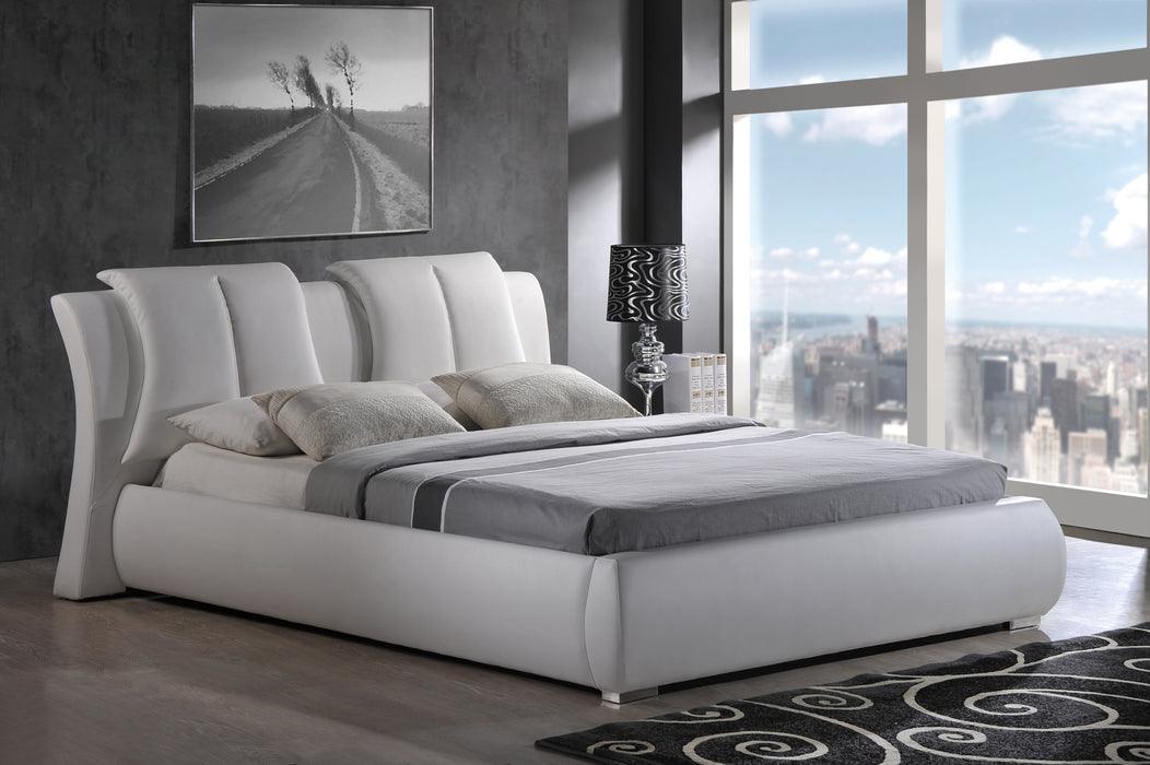 8269 QUEEN BED WHITE image