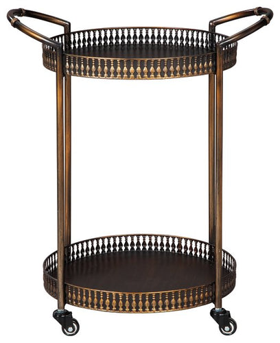 Clarkburn Signature Design by Ashley Bar Cart image