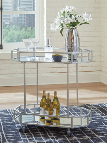 Kadinburg Signature Design by Ashley Bar Cart image