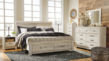 Load image into Gallery viewer, Bellaby Signature Design by Ashley Bed with 2 Storage Drawers