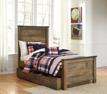 Load image into Gallery viewer, Trinell Signature Design by Ashley Bed with Storage Drawer