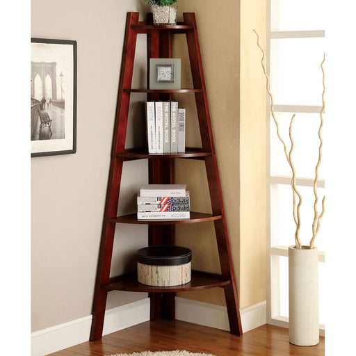 Lyss Cherry Ladder Shelf image