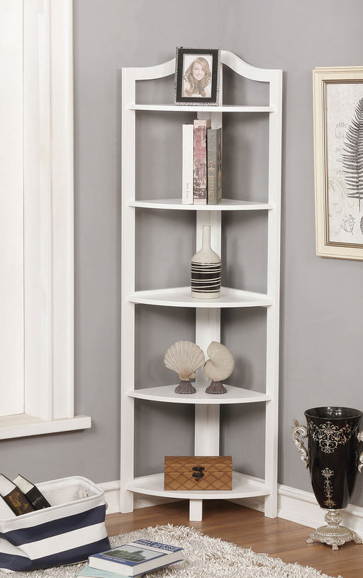 Alyssa White Ladder Shelf image