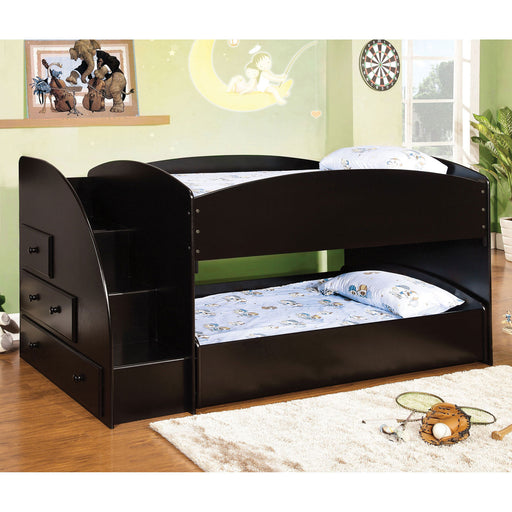 Merritt Black Twin/Twin Bunk Bed image