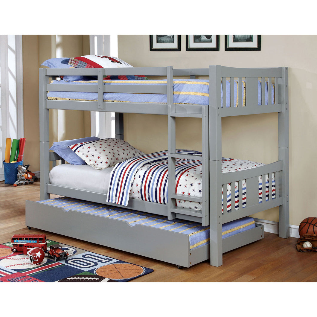 Cameron Gray Twin/Twin Bunk Bed image