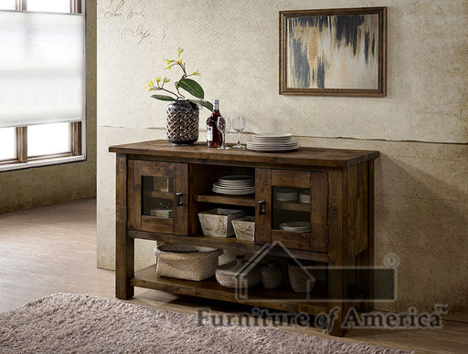 Kristen Rustic Oak Server image