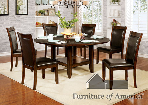 Mae Brown Cherry, Espresso 5 Pc. Dining Table Set image