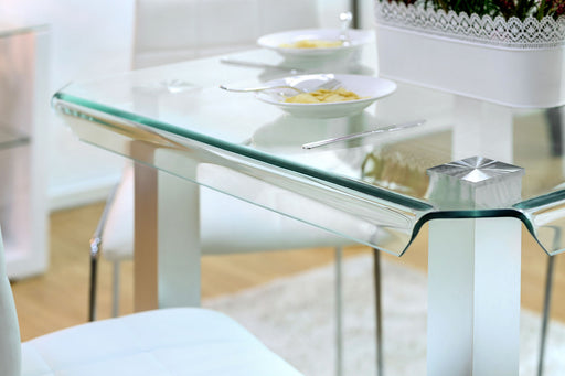 Richfield II Silver/Chrome Counter Ht. Table image