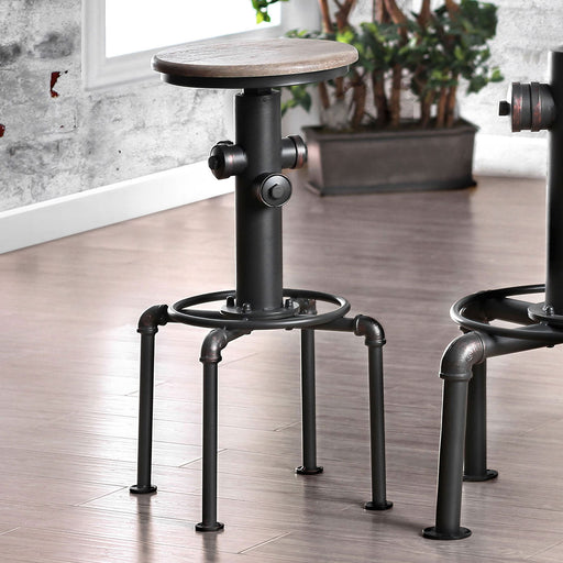 Foskey Antique Black Bar Stool (2/CTN) image
