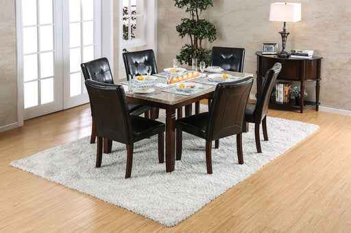 Marstone Brown Cherry 5 Pc. Dining Table Set image
