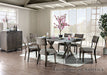 Leeds Gray 7 Pc. Dining Table Set image