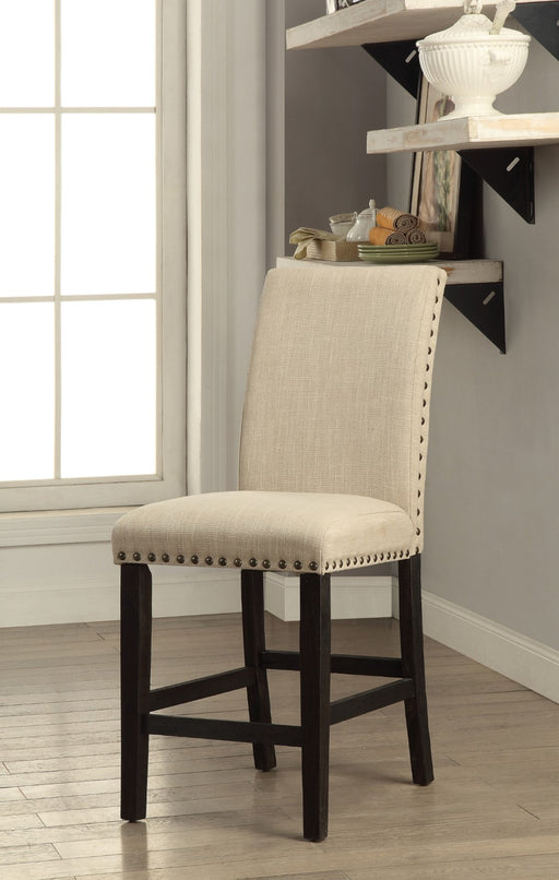 DODSON II Black/Beige Counter Ht. Chair (2/CTN) image