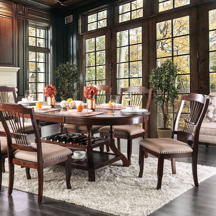 Jordyn Brown Cherry Dining Table image