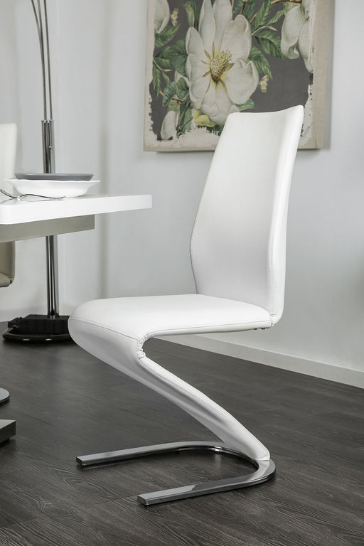 Midvale Black/Chrome Side Chair (2/CTN) image