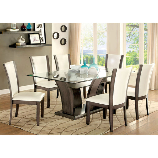 MANHATTAN I Gray 7 Pc. Dining Table Set image