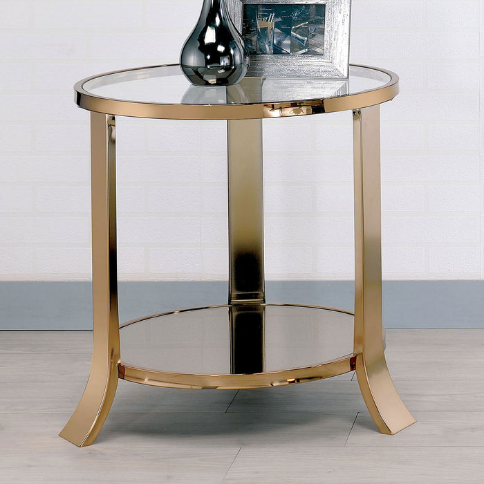 Champagne End Table image