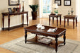 Bunbury Cherry 3 Pc. Coffee Table Set image