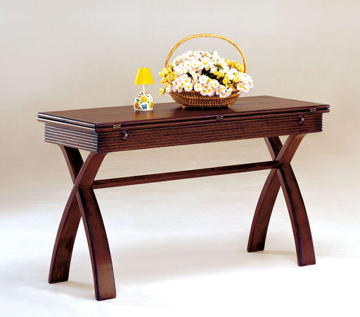 Kingston Cherry Console Table w/ Expandable Top image