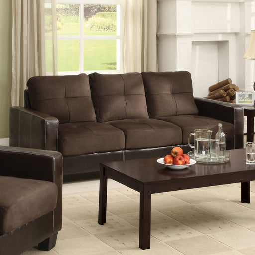 Laverne Chocolate/Espresso Sofa, Chocolate image