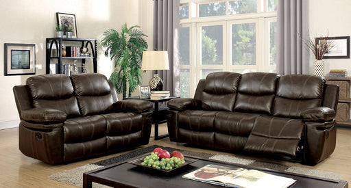 Listowel Brown Sofa + Love Seat image