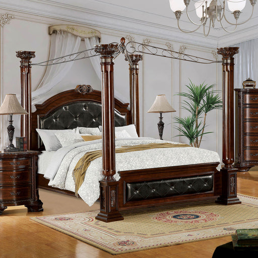 Mandalay Brown Cherry E.King Bed image