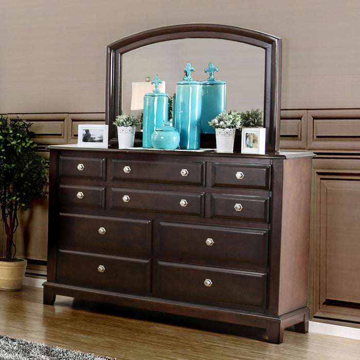 Litchville Brown Cherry Dresser image