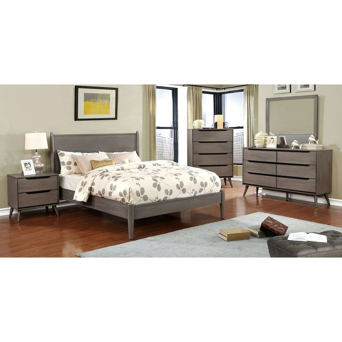 Lennart Gray 4 Pc. Queen Bedroom Set image