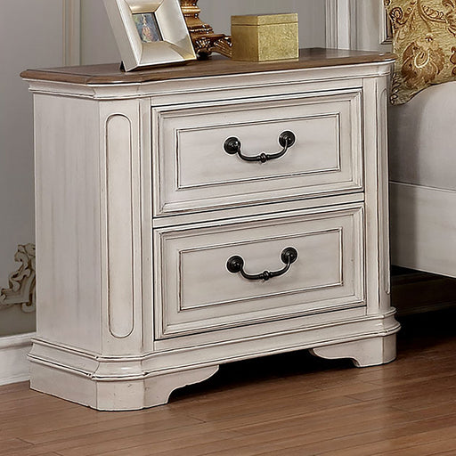 Pembroke Antique Whitewash Night Stand image