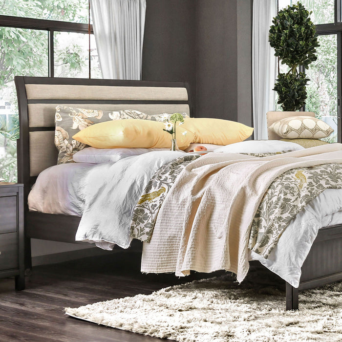 Berenice Gray/Beige Queen Bed image