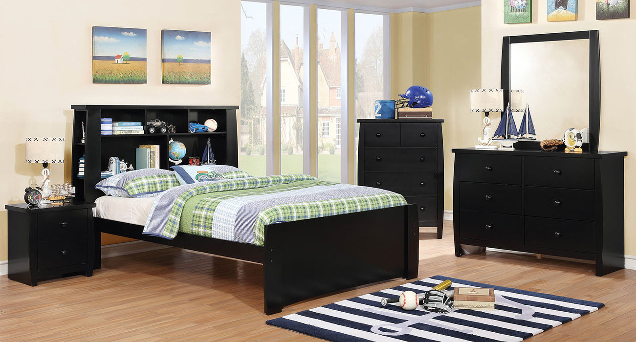 Marlee Black 4 Pc. Full Bedroom Set image